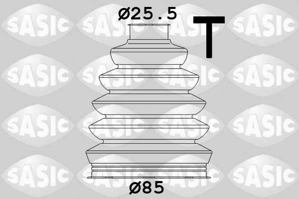Soufflet de cardan SASIC 1904029 (X1)