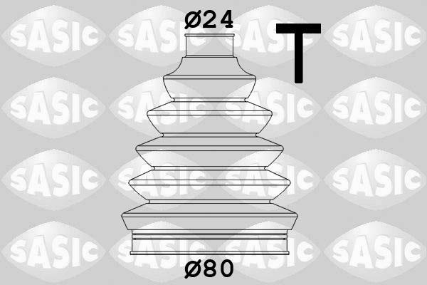 Soufflet de cardan SASIC 1904031 (X1)