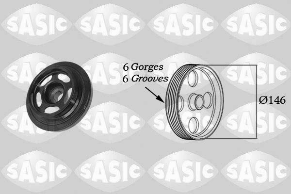 Poulies SASIC 2156059 (X1)