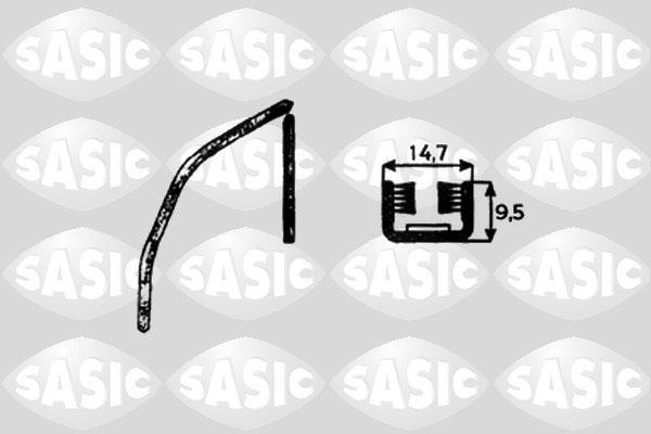 Joint d'étanchéité de porte SASIC 3019009 (X1)