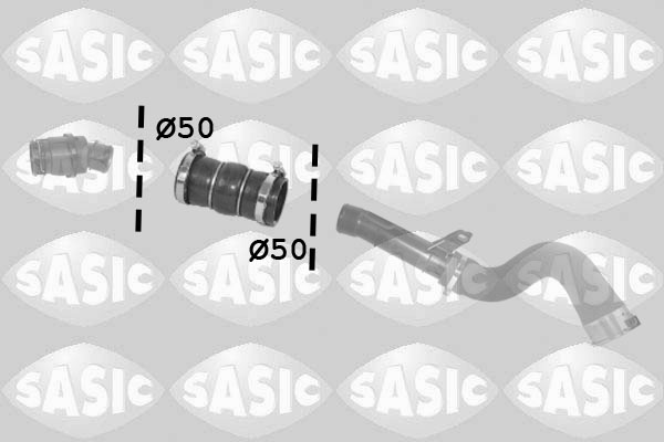 Durite turbo SASIC 3334028 (X1)