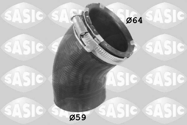 Durite turbo SASIC 3336121 (X1)