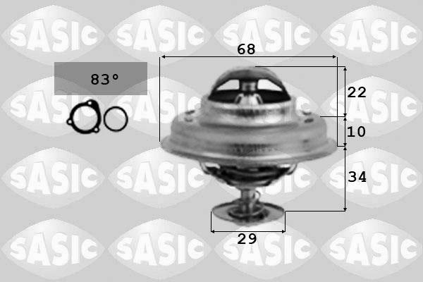 Thermostat/calorstat SASIC 3381251 (X1)