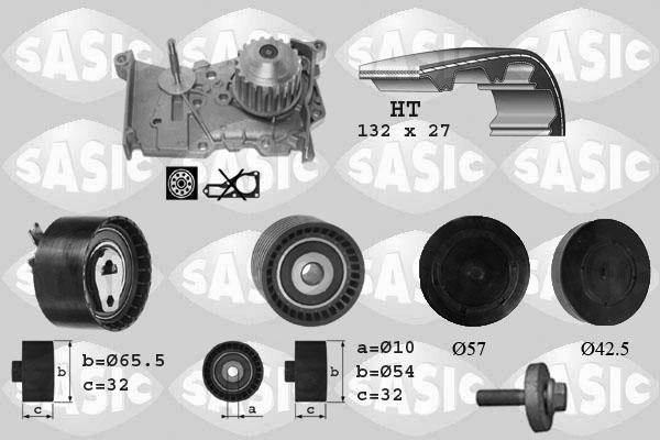 Kit distribution + pompe a eau SASIC 3904011 (X1)