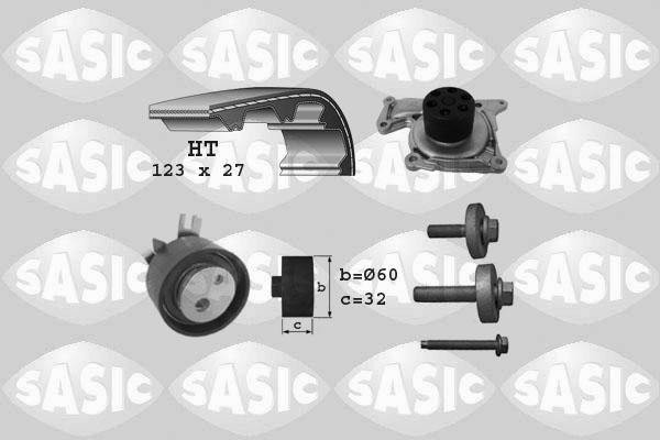 Kit distribution + pompe a eau SASIC 3904037 (X1)