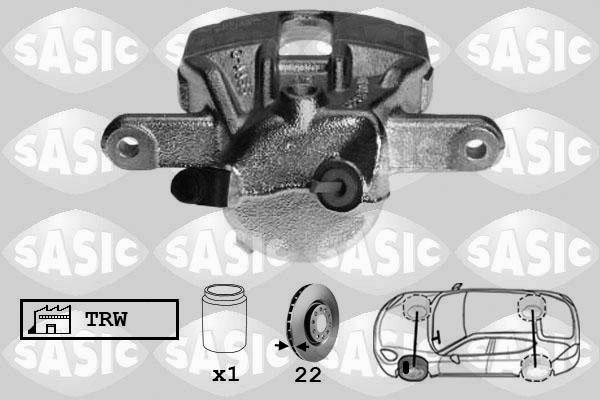 Étrier de frein SASIC 6504010 (X1)