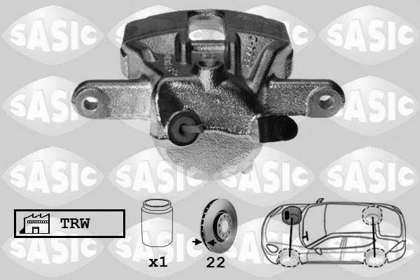 Étrier de frein SASIC 6504011 (X1)