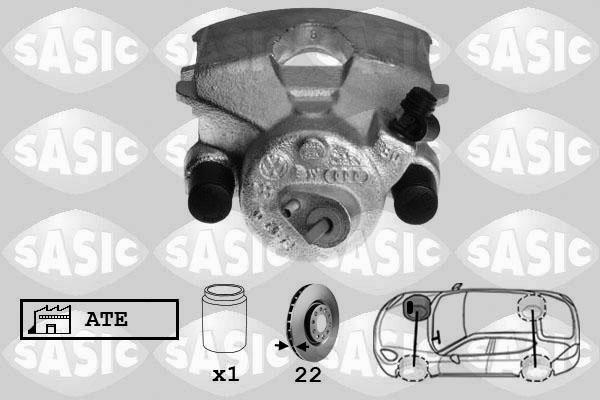 Étrier de frein SASIC 6506005 (X1)