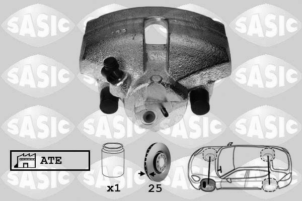 Étrier de frein SASIC 6506120 (X1)
