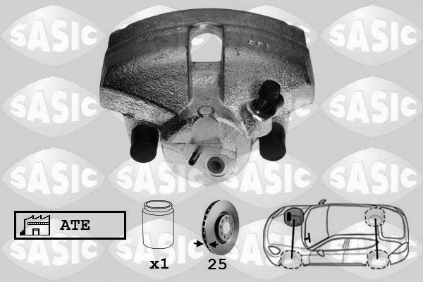 Étrier de frein SASIC 6506121 (X1)