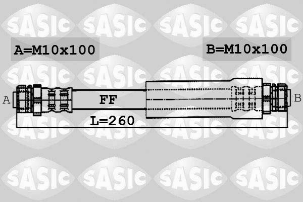 Freinage SASIC 6606009 (X1)