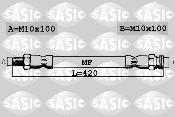 Flexible de frein SASIC 6606022 (X1)