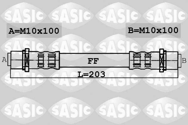 Freinage SASIC 6606060 (X1)
