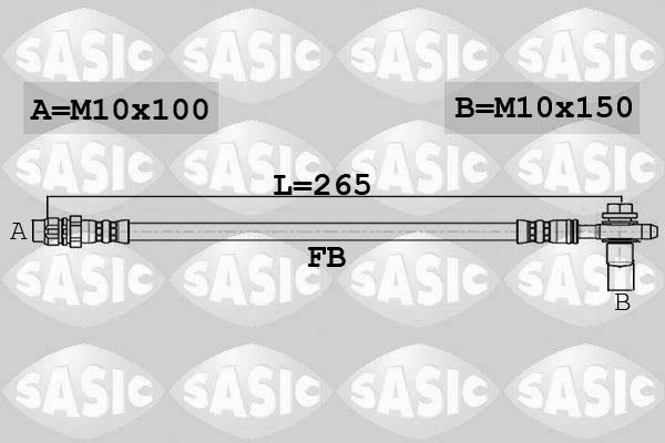 Freinage SASIC 6606170 (X1)