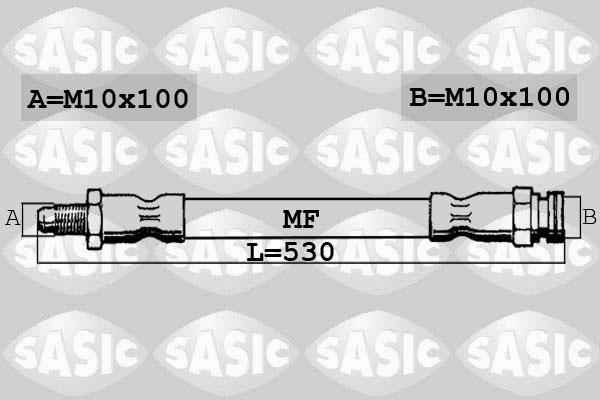 Flexible de frein SASIC 6606178 (X1)