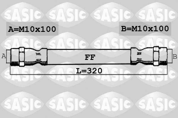 Flexible de frein SASIC 6606180 (X1)