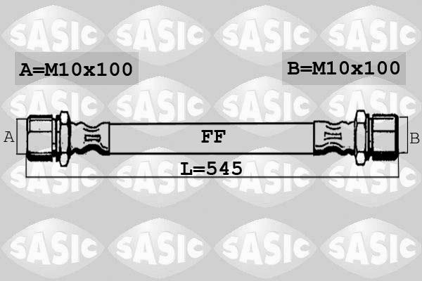 Flexible de frein SASIC 6606191 (X1)