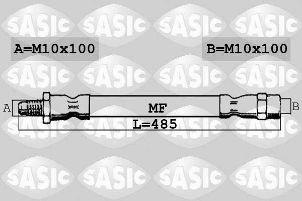 Flexible de frein SASIC 6606261 (X1)