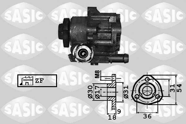 Pompe direction assistee SASIC 7076010 (X1)