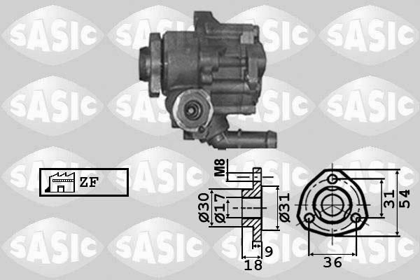 Pompe direction assistee SASIC 7076023 (X1)