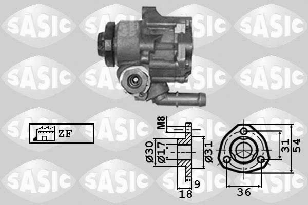 Pompe direction assistee SASIC 7076024 (X1)