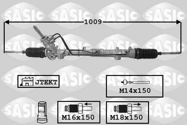 Cremaillere de direction SASIC 7174017 (X1)