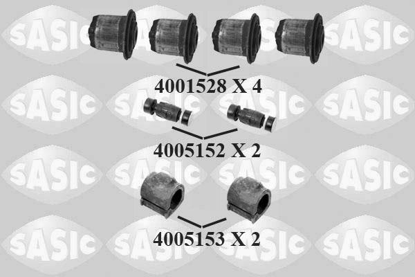 Kit de reparation barre stabilisatrice SASIC 7964002S (X1)
