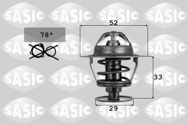Thermostat/calorstat SASIC 9000039 (X1)