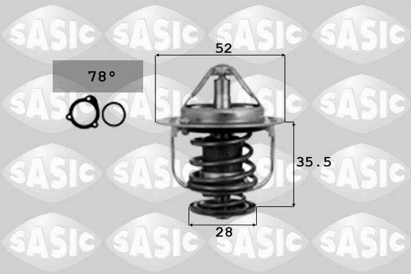Thermostat/calorstat SASIC 9000075 (X1)