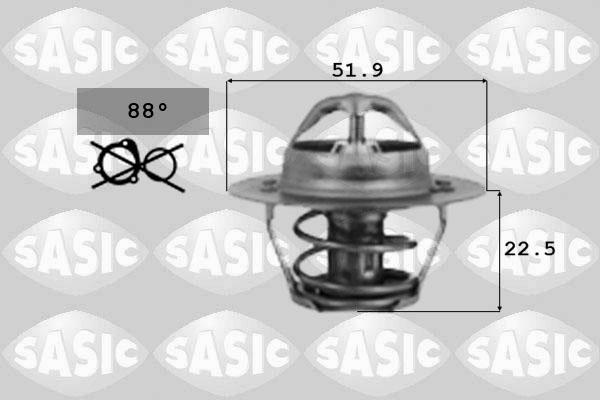 Thermostat/calorstat SASIC 9000124 (X1)