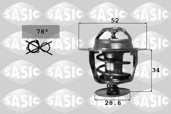 Thermostat/calorstat SASIC 9000237 (X1)