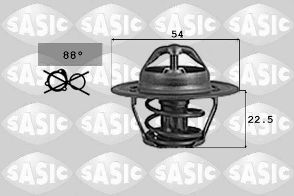 Thermostat/calorstat SASIC 9000742 (X1)