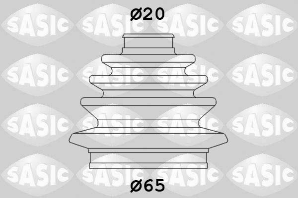 Soufflet de cardan SASIC 9004629 (X1)