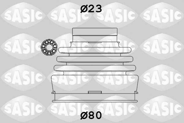 Soufflet de cardan SASIC 9004630 (X1)