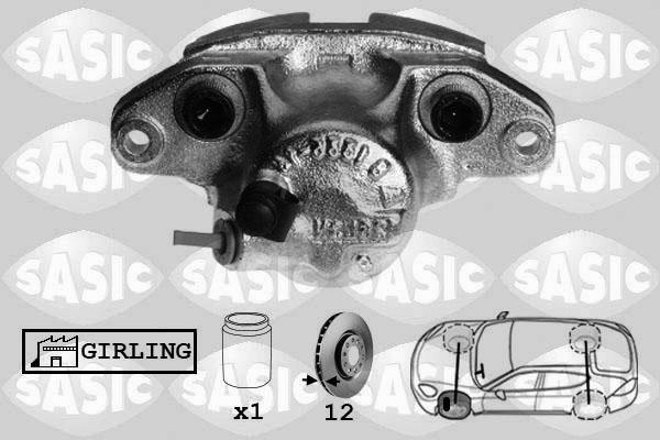 Étrier de frein SASIC SCA4002 (X1)