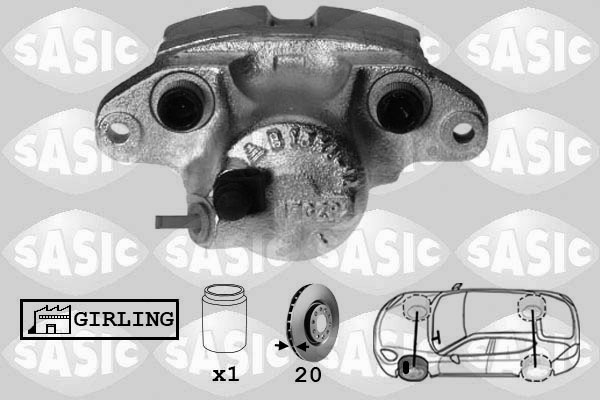Étrier de frein SASIC SCA4020 (X1)