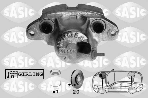 Étrier de frein SASIC SCA4021 (X1)