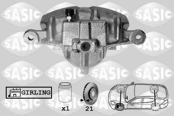 Étrier de frein SASIC SCA6128 (X1)