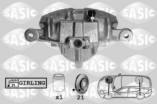 Étrier de frein SASIC SCA6129 (X1)
