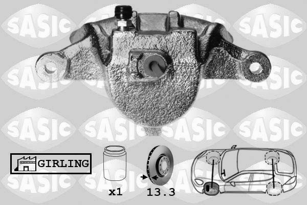 Étrier de frein SASIC SCA6136 (X1)