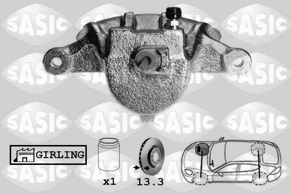 Étrier de frein SASIC SCA6137 (X1)
