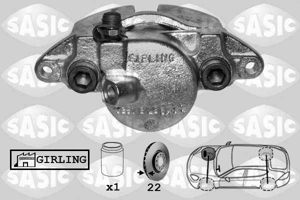Étrier de frein SASIC SCA6163 (X1)
