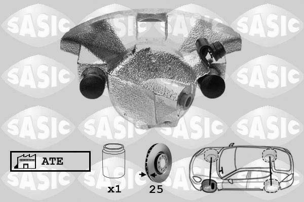 Étrier de frein SASIC SCA6184 (X1)