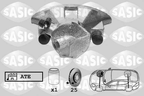 Étrier de frein SASIC SCA6185 (X1)
