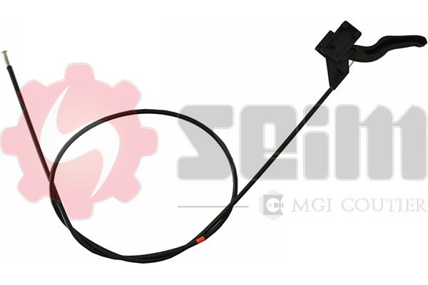Cable d'ouverture capot SEIM 114103 (X1)