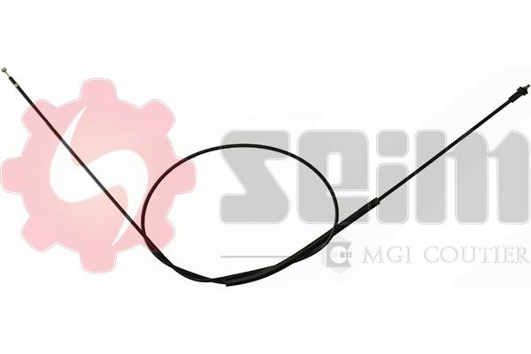 Cable d'ouverture capot SEIM 122171 (X1)
