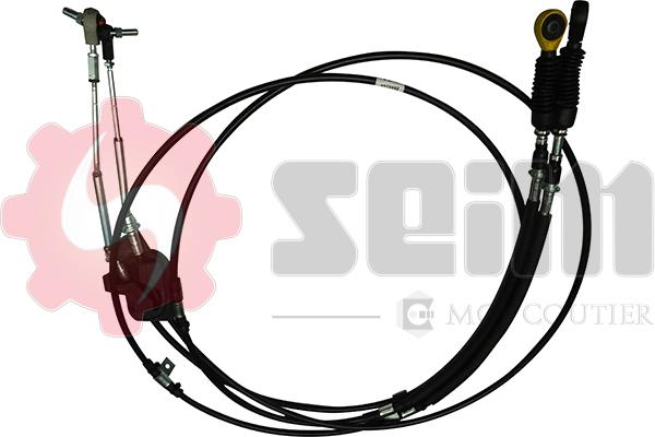 Tirette à câble, boîte de vitesse manuelle SEIM 554805 (X1)