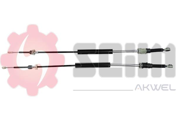 Tirette à câble, boîte de vitesse manuelle SEIM 554816 (X1)