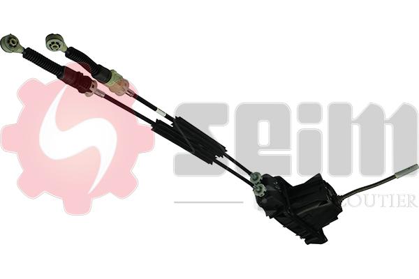 Tirette à câble, boîte de vitesse manuelle SEIM 554848 (X1)