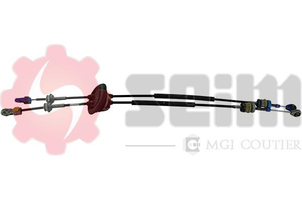 Tirette à câble, boîte de vitesse manuelle SEIM 555291 (X1)